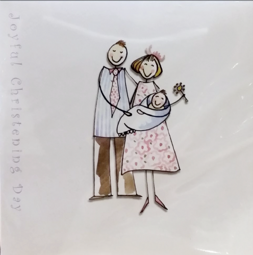 Joyful Christening Day Card